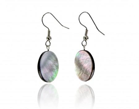 Black Mother-of-Pearl Earrings