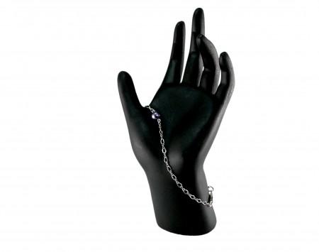 Black Freshwater Pearl Bracelet