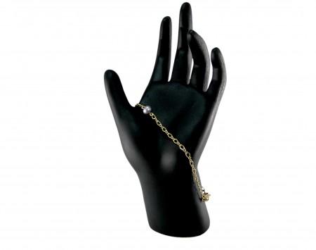 Gunmetal Freshwater Pearl Bracelet