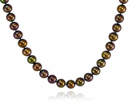 Chocolate Freshwater Pearl Necklace