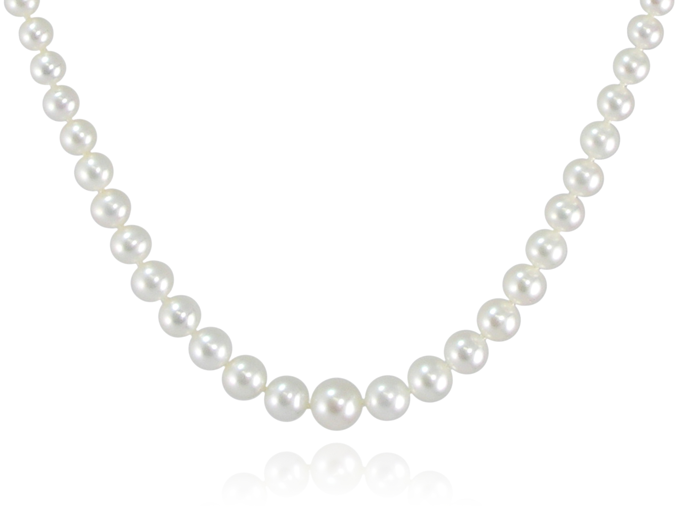strand grey silver baroque japanese natural clasp color with necklace akoya pearl