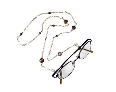 Baroque Pearl Eyeglass Chain
