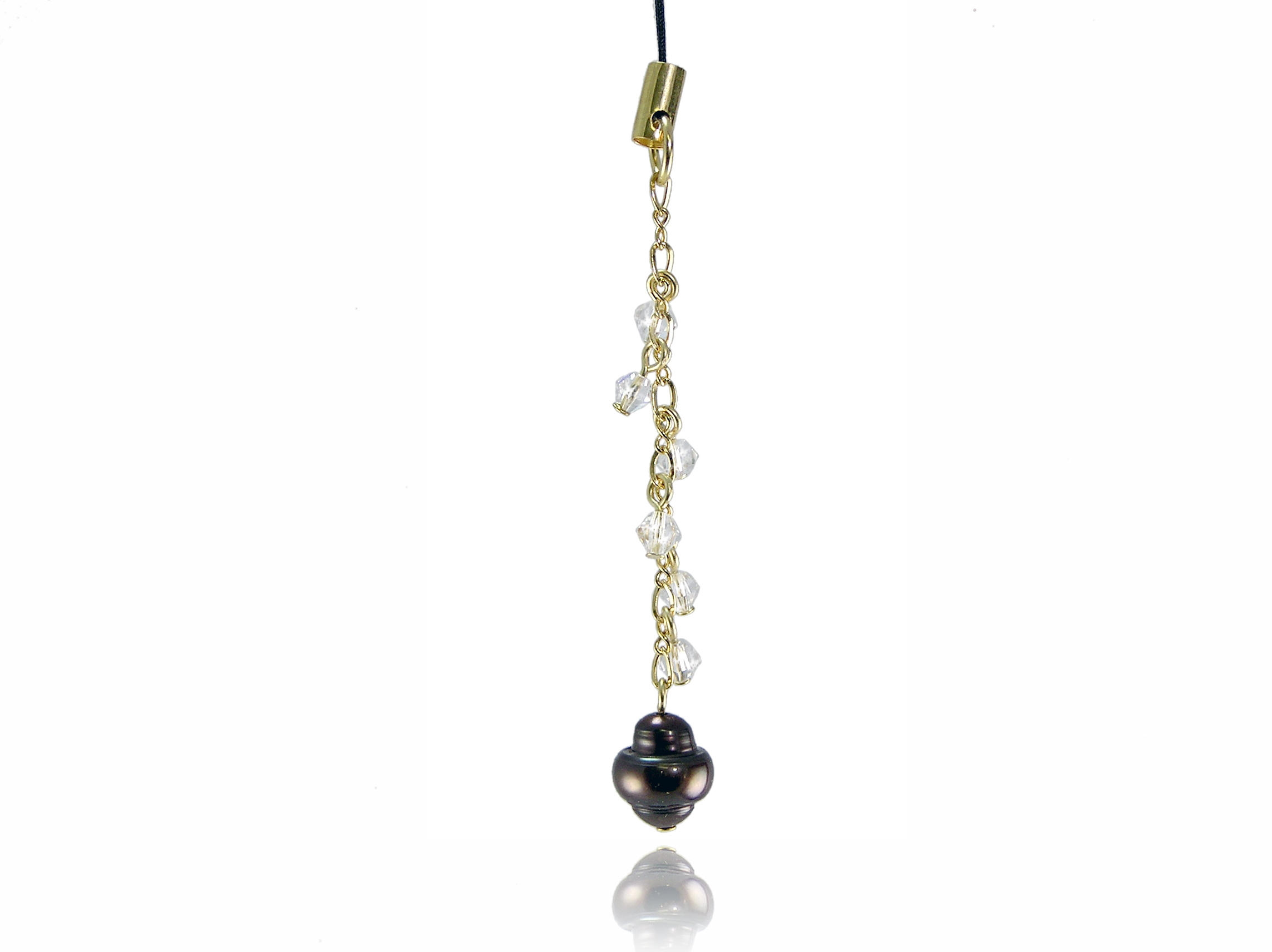Freshwater Pearl Cell Phone Charm