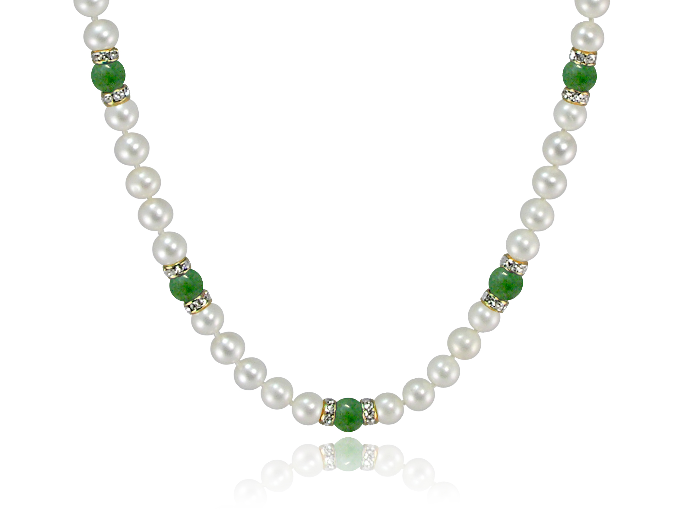 copy of chinese nephrite jade necklace beads paradise products necklacae charm