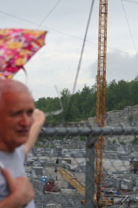 Jim visits the granite quarry