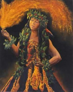 Pele, Goddess of Fire and Volcanos