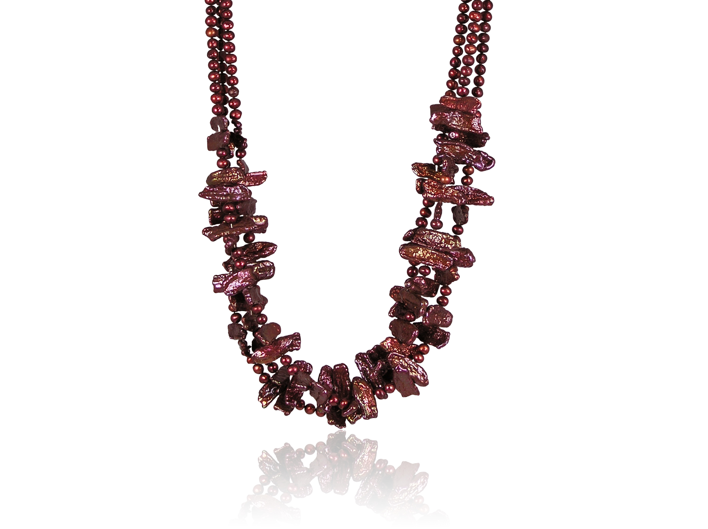 Freshwater Stick Pearl Necklace