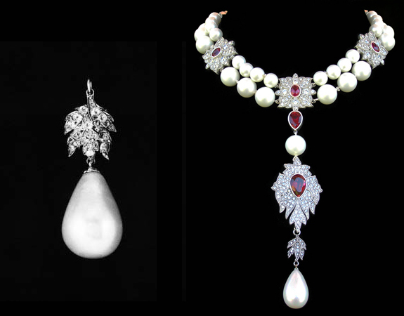 Natural pearls archives pearls international for Mary queen of scots replica jewelry