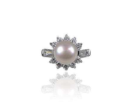 Freshwater Pearl Cocktail Ring