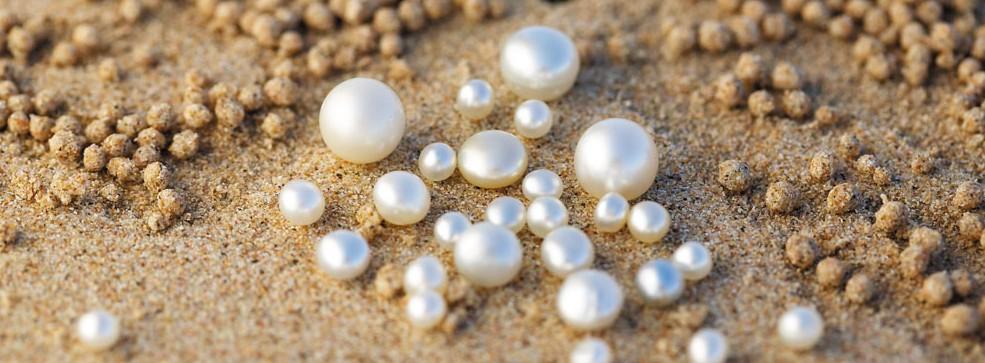 Pearls on Sand