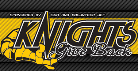 UCF Knights Give Back