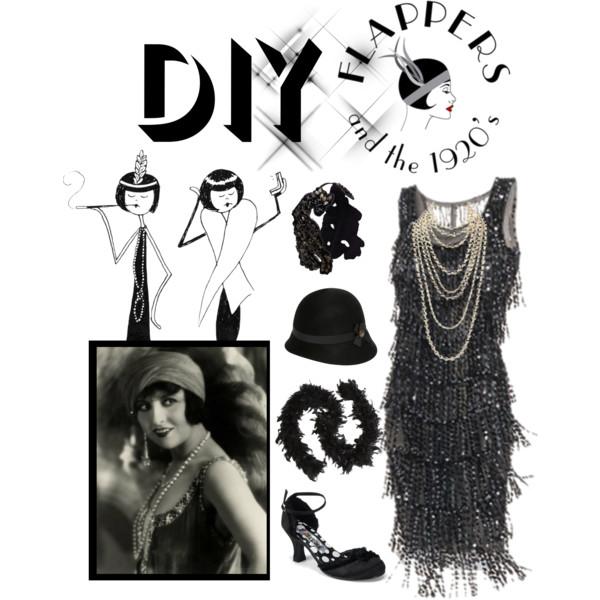 DIY 1920's Flapper