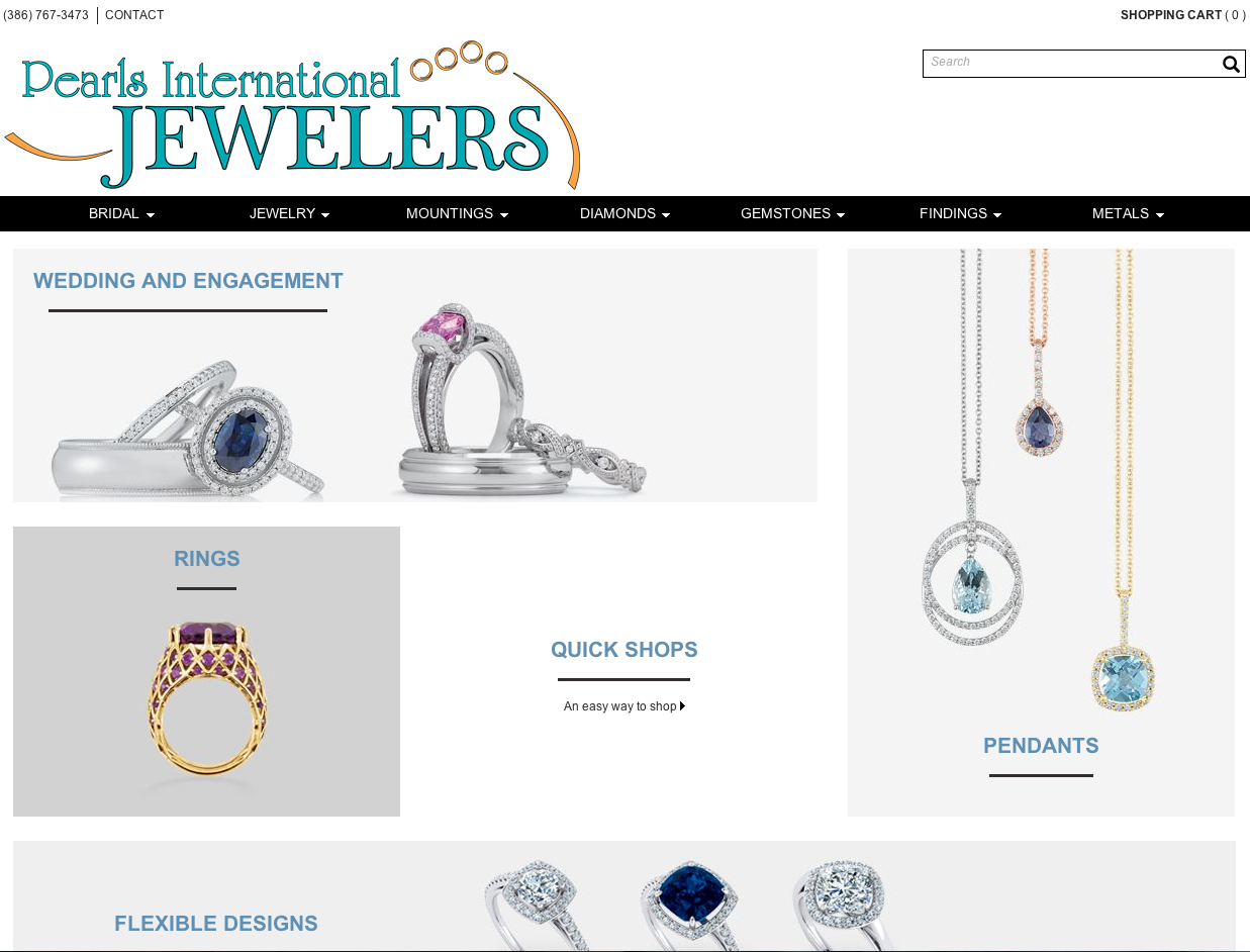 Pearls International Digital Showcase Screen Capture