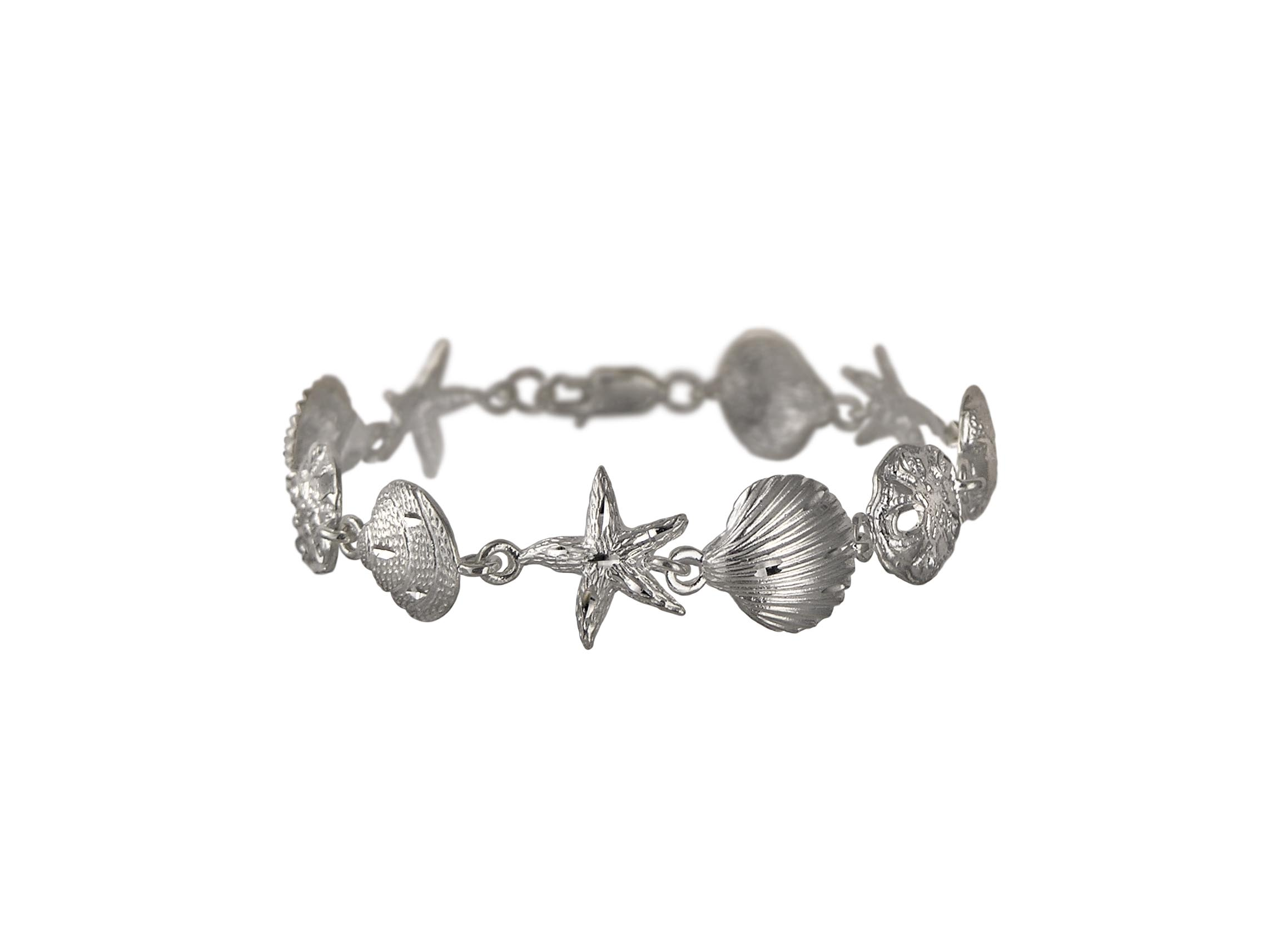 Sterling Silver Sealife Bracelet