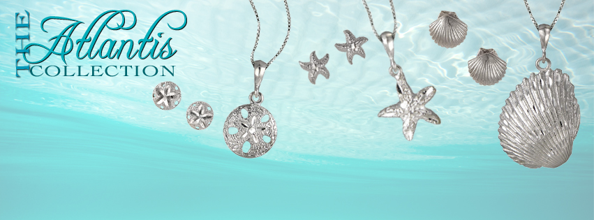 Atlantis Collection in Sterling Silver