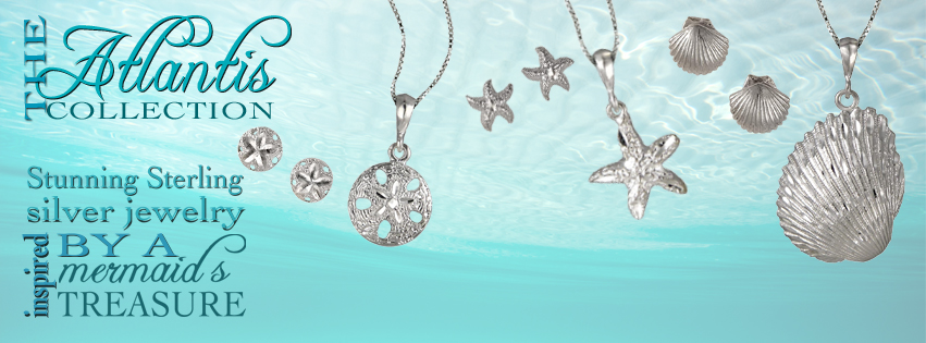 Atlantis Collection Sterling Silver Jewelry