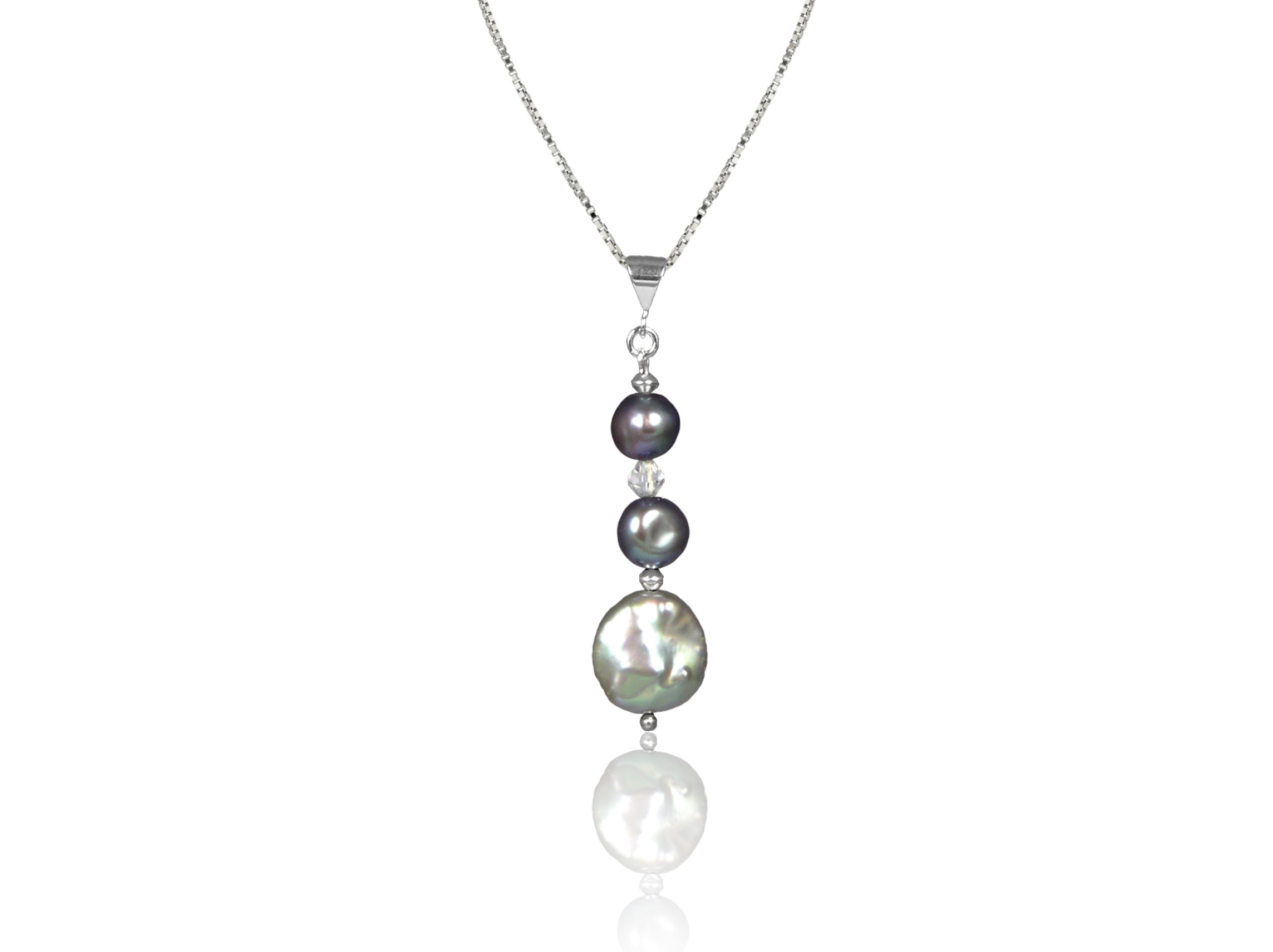 pearl pendant z black cultured in teardrop tahitian quality pearls d aaa