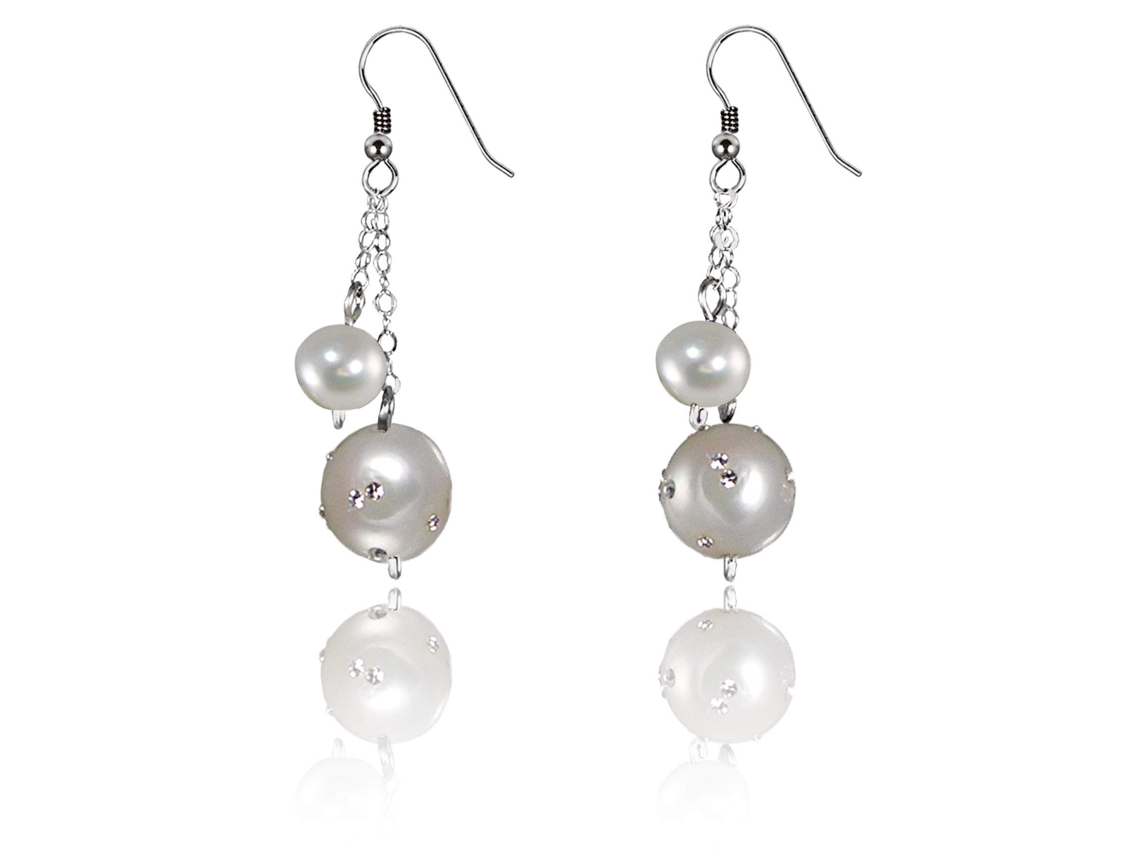 Constellation Pearl Earrings - Choose Your Color!