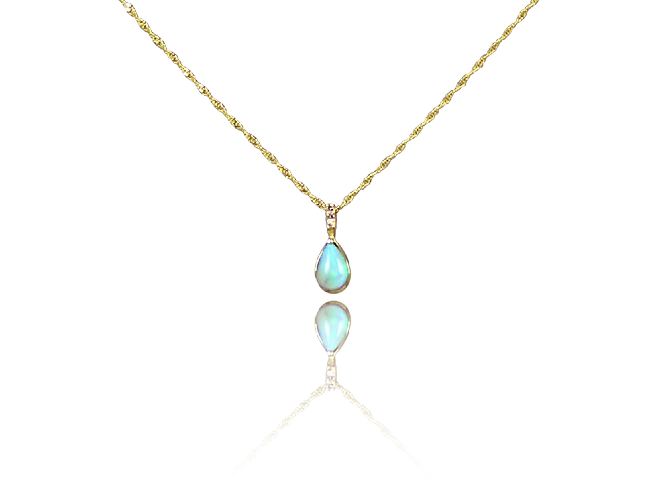 with carat michael pendant opal a welo christopher design real