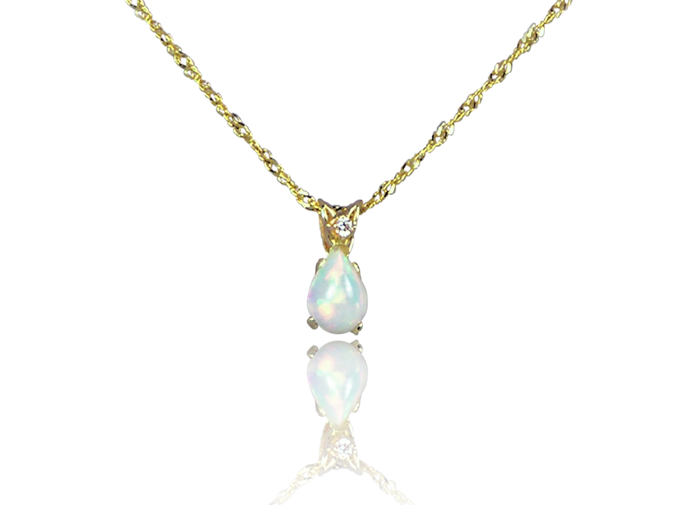 listing rainbow silver opal genuine real natural fullxfull and blue pendant solid necklace il fire