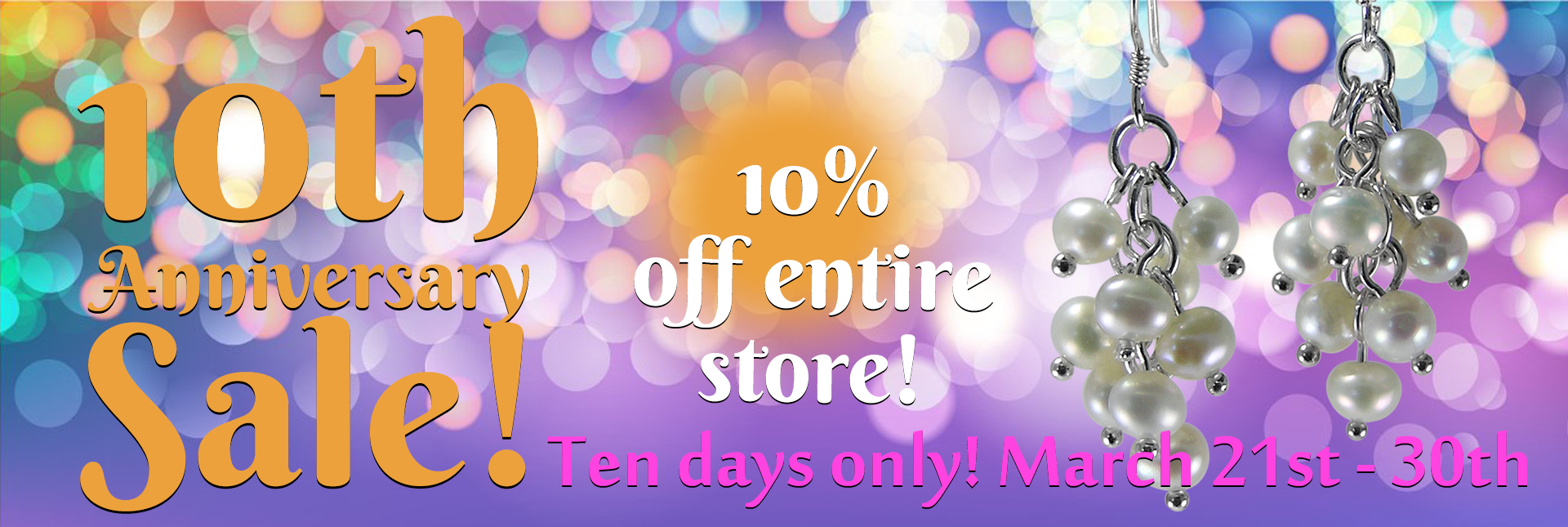 10th Anniversary Sale Website Slider Revised